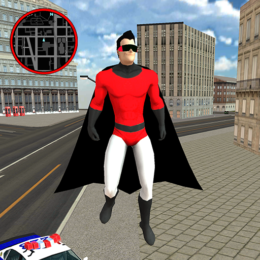 Flying SuperHero Rope Vegas Rescue Mod apk download – Mod Apk 2.3 [Unlimited money] free for Android.