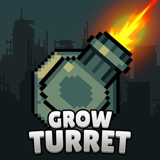 Grow Turret – Idle Clicker Defense Mod apk download – Mod Apk 7.5.5 [Unlimited money] free for Android.