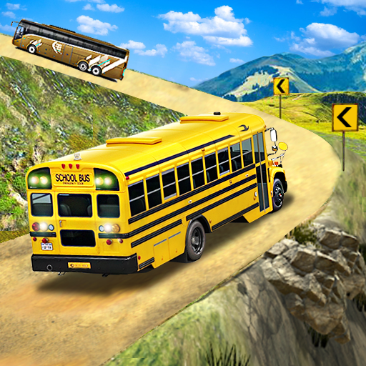 Offroad School Bus Driving: Flying Bus Games 2020 Mod apk download – Mod Apk 1.39 [Unlimited money] free for Android.