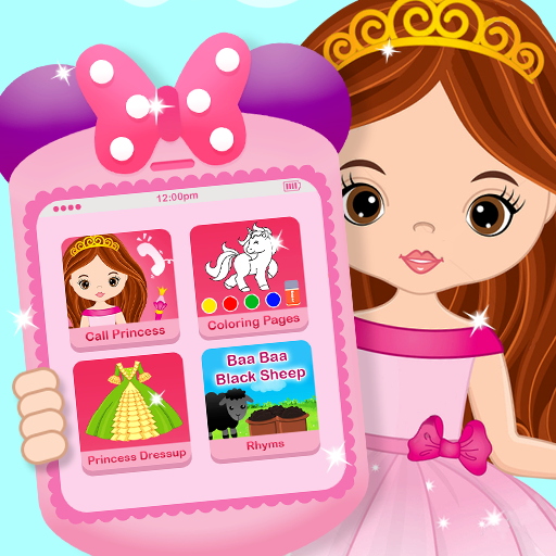 Pink Little Talking Princess Baby Phone Kids Game Pro apk download – Premium app free for Android