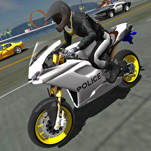 Police Motorbike Traffic Rider Pro apk download – Premium app free for Android