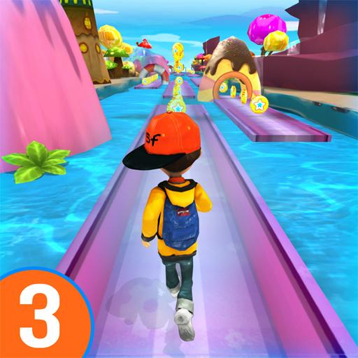 RUN RUN 3D 3 – Hyper Water Surfer Endless Race Mod apk download – Mod Apk 501.2.0 [Unlimited money] free for Android.