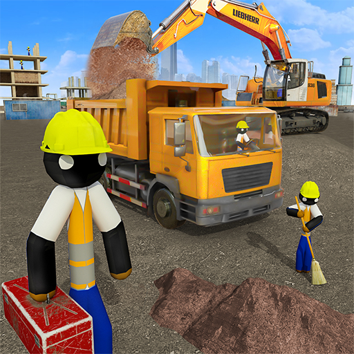Stickman City Construction Excavator Mod apk download – Mod Apk 1.6 [Unlimited money] free for Android.