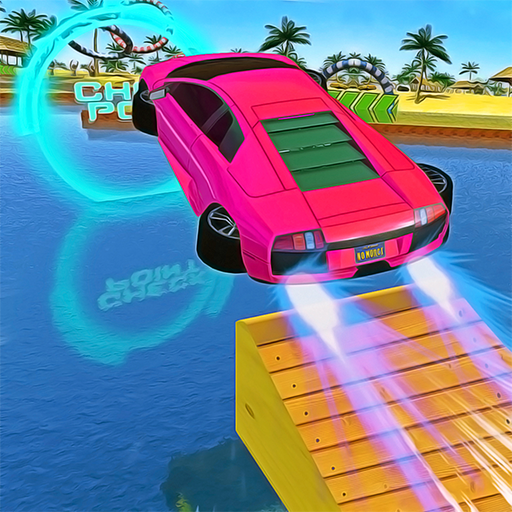 Water Car Stunt Racing 2019: 3D Cars Stunt Games Pro apk download – Premium app free for Android 2.0