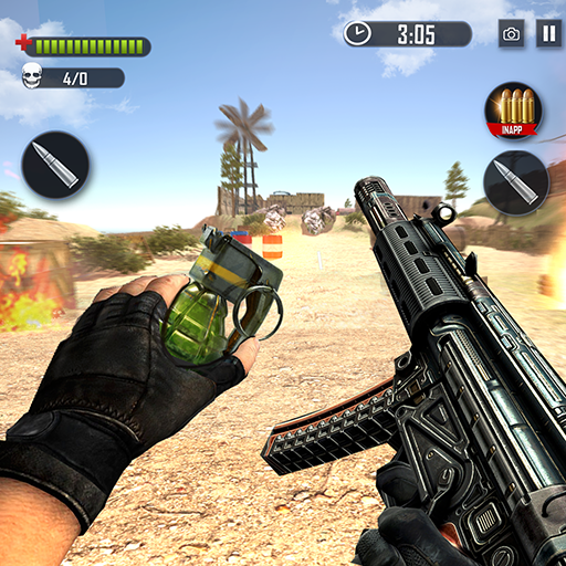 Battleground Fire Cover Strike: Free Shooting Game Mod apk download – Mod Apk 2.1.4 [Unlimited money] free for Android.