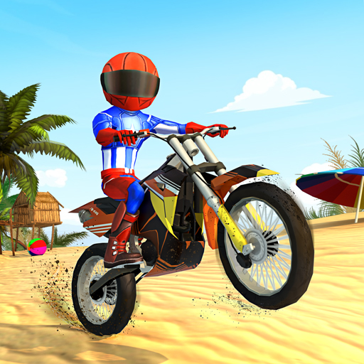 Beach Bike Stunts: Crazy Stunts and Racing Game Pro apk download – Premium app free for Android