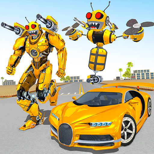 Bee Robot Car Transformation Game: Robot Car Games Mod apk download – Mod Apk 1.30 [Unlimited money] free for Android.