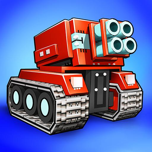 Blocky Cars – pixel shooter, tank wars Pro apk download – Premium app free for Android