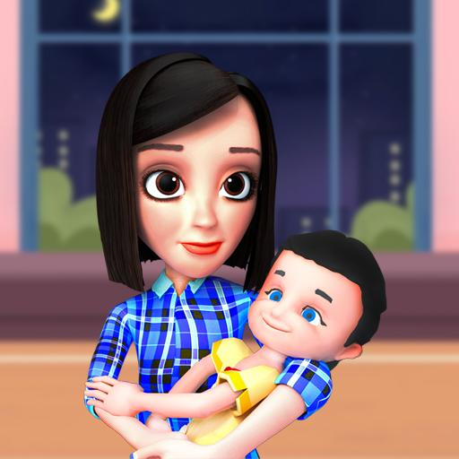 Busy Virtual Mother Simulator 2021 👩 Pro apk download – Premium app free for Android