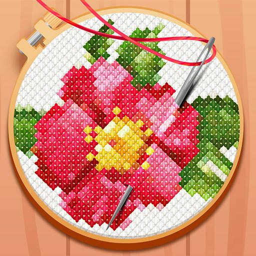 CROSS-STITCH: COLORING BOOK Pro apk download – Premium app free for Android