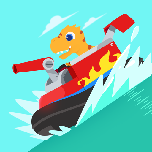 Dinosaur Patrol Boat – Coast Guard Games for kids Pro apk download – Premium app free for Android