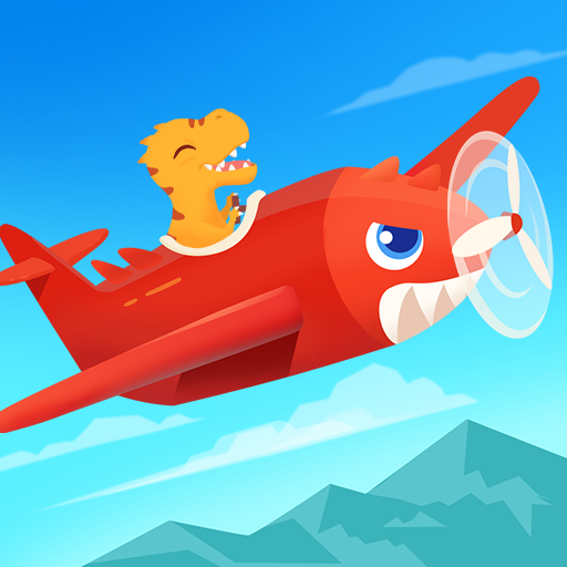 Dinosaur Plane – Plane piloting game for kids Mod apk download – Mod Apk 1.1.0 [Unlimited money] free for Android.