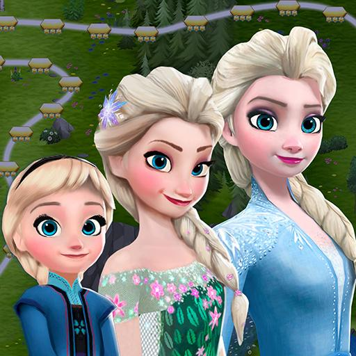 Disney Frozen Free Fall – Play Frozen Puzzle Games Mod apk download – Mod Apk 10.1.1 [Unlimited money] free for Android.