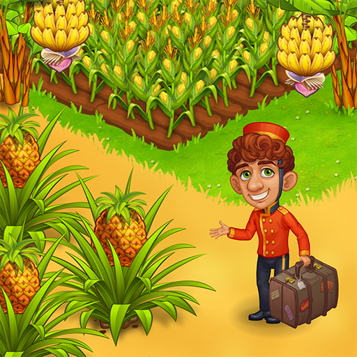 Farm Paradise – Fun farm trade game at lost island Pro apk download – Premium app free for Android