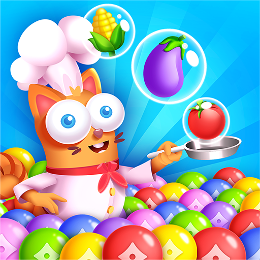 Kitten Games – Bubble Shooter Cooking Game Mod apk download – Mod Apk 1.2 [Unlimited money] free for Android.