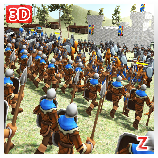 Medieval Wars: Hundred Years War 3D Mod apk download – Mod Apk 2.1 [Unlimited money] free for Android.