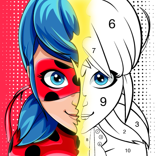 Miraculous Ladybug & Cat Noir. Color by number Mod apk download – Mod Apk 1.1.2 [Unlimited money] free for Android.
