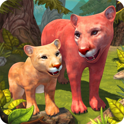 Mountain Lion Family Sim : Animal Simulator Pro apk download – Premium app free for Android