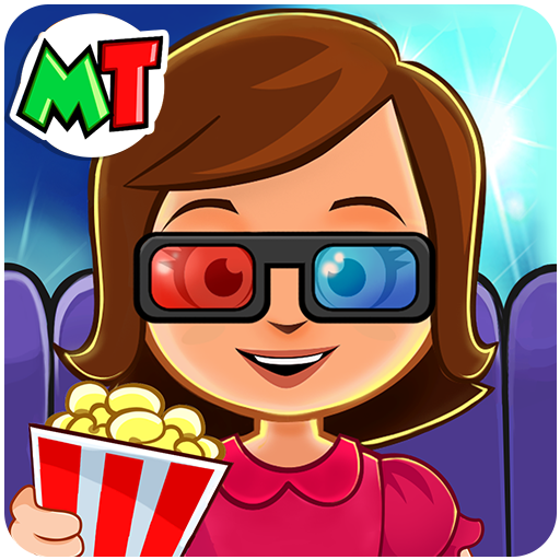 My Town : Cinema & Movie Star – Kids Movie Night Mod apk download – Mod Apk 1.10 [Unlimited money] free for Android.