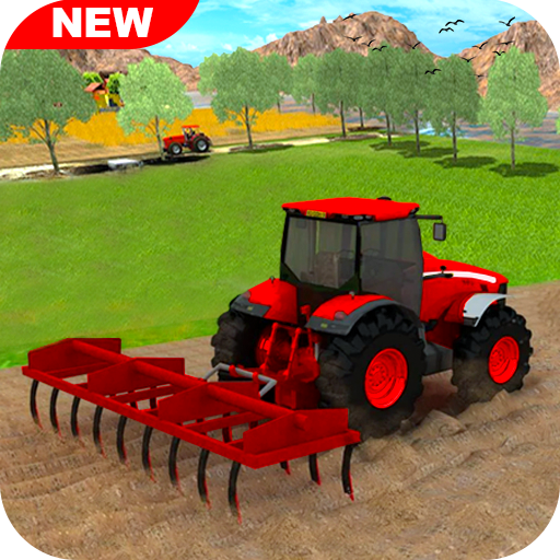 New Tractor Farming 2021: Free Farming Games 2021 Pro apk download – Premium app free for Android