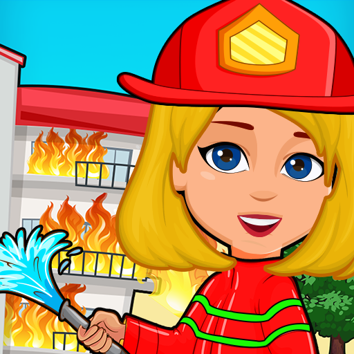 Pretend Play My Firestation Town  : Rescue Fireman Pro apk download – Premium app free for Android