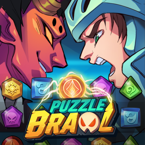 Puzzle Brawl – Match 3 RPG & PvP Battle Tactics Mod apk download – Mod Apk 1.2.3 [Unlimited money] free for Android.