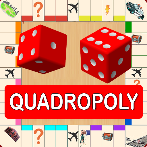 Quadropoly Best AI Board Business Trading Game Pro apk download – Premium app free for Android