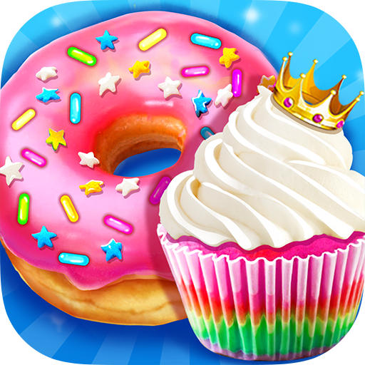 Rainbow Princess Bakery – Make Cupcake & Donut Mod apk download – Mod Apk 1.4 [Unlimited money] free for Android.