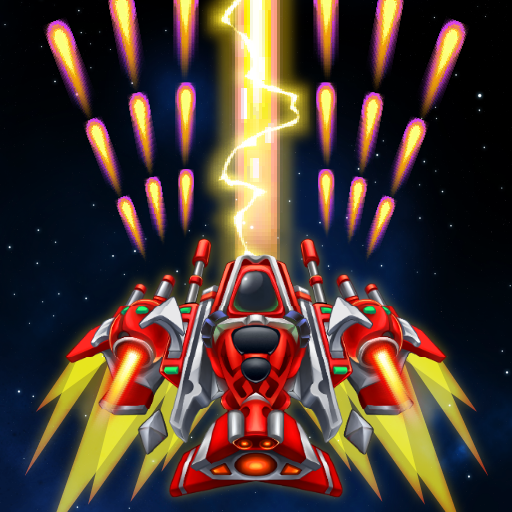Sky Raptor: Space Shooter – Alien Galaxy Attack Mod apk download – Mod Apk 1.3.4 [Unlimited money] free for Android.