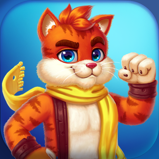 Cat Heroes – Color Matching Puzzle Adventure Pro apk download – Premium app free for Android