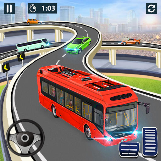City Coach Bus Simulator 2021 – PvP Free Bus Games Mod apk download – Mod Apk 1.2.3 [Unlimited money] free for Android.