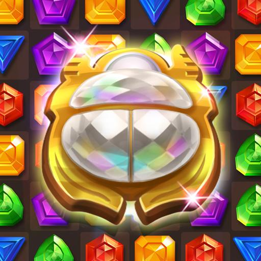 Cleopatra's Jewels – Ancient Match 3 Puzzle Games Mod apk download – Mod Apk 1.2.4 [Unlimited money] free for Android.
