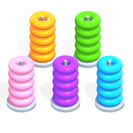 Color Hoop Stack – Sort Puzzle Pro apk download – Premium app free for Android