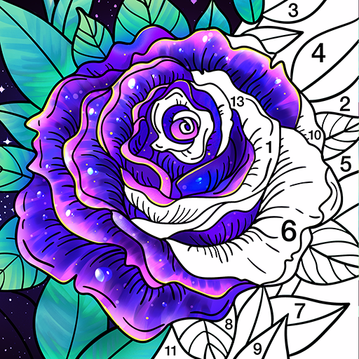 Coloring Book – Color by Number & Paint by Number Pro apk download – Premium app free for Android