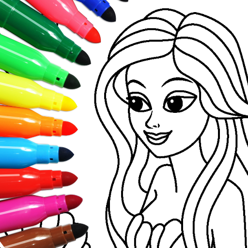Coloring game for girls and women Pro apk download – Premium app free for Android