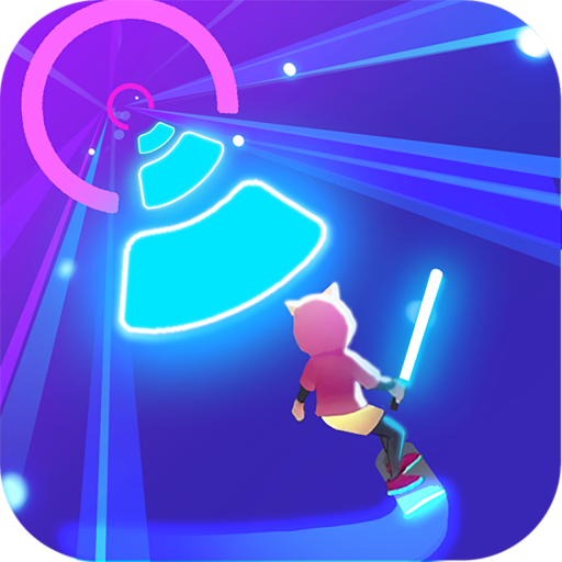 Cyber Surfer: Free Music Game – the Rhythm Knight Pro apk download – Premium app free for Android