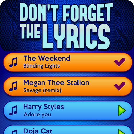 Don't Forget the Lyrics Mod apk download – Mod Apk 1.3.0 [Unlimited money] free for Android.