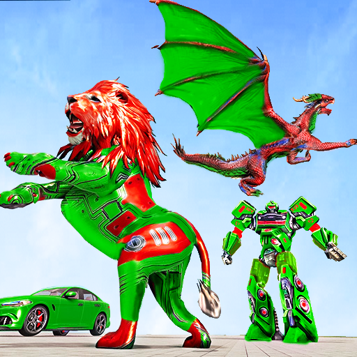 Dragon Robot Car Game – Robot transforming games Mod apk download – Mod Apk 1.3.9 [Unlimited money] free for Android.