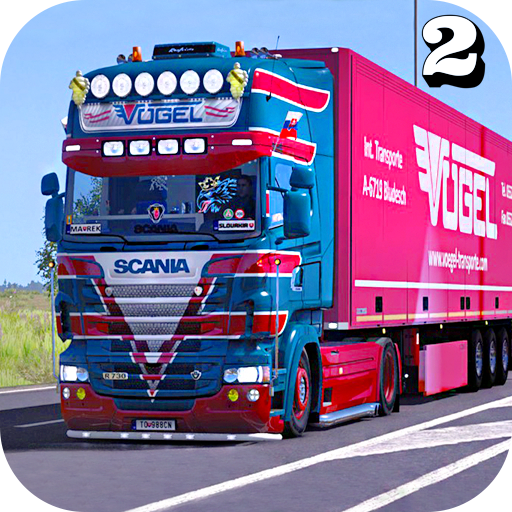 Euro Truck Transport Simulator 2: Cargo Truck Game Mod apk download – Mod Apk 1.8 [Unlimited money] free for Android.