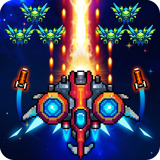 Galaxiga: Classic Arcade Shooter 80s – Free Games Mod apk download – Mod Apk 21.3 [Unlimited money] free for Android.
