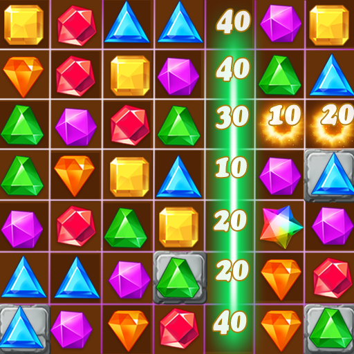Jewels Classic – Jewel Crush Legend Mod apk download – Mod Apk 3.3.0 [Unlimited money] free for Android.