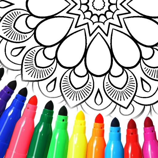 Mandala Coloring Pages Mod apk download – Mod Apk 15.7.4 [Unlimited money] free for Android.