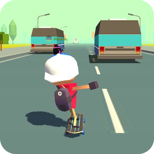 Skateboard King! (Race) Mod apk download – Mod Apk 1.4.5 [Unlimited money] free for Android.