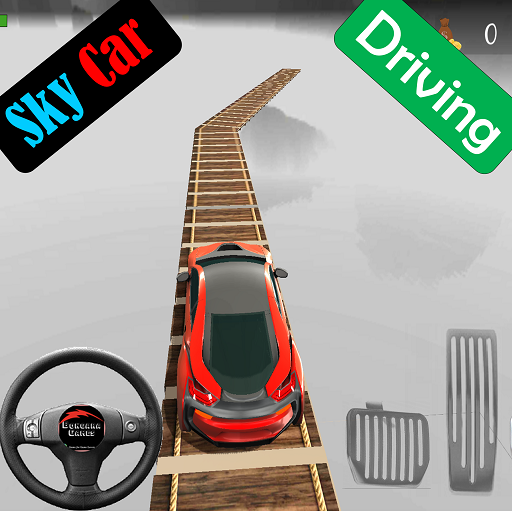 Sky Car Driving Stunt Impossible Track Mod apk download – Mod Apk 1.10 [Unlimited money] free for Android.