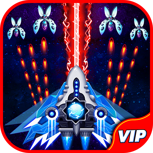 Space Shooter: Alien vs Galaxy Attack (Premium) Mod apk download – Mod Apk 1.492 [Unlimited money] free for Android.