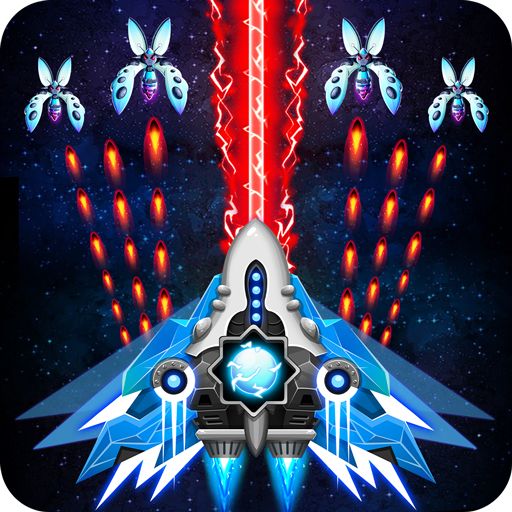 Space shooter – Galaxy attack – Galaxy shooter Mod apk download – Mod Apk 1.498 [Unlimited money] free for Android.