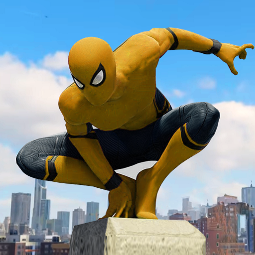Spider Rope Hero – Gangster New York City Pro apk download – Premium app free for Android