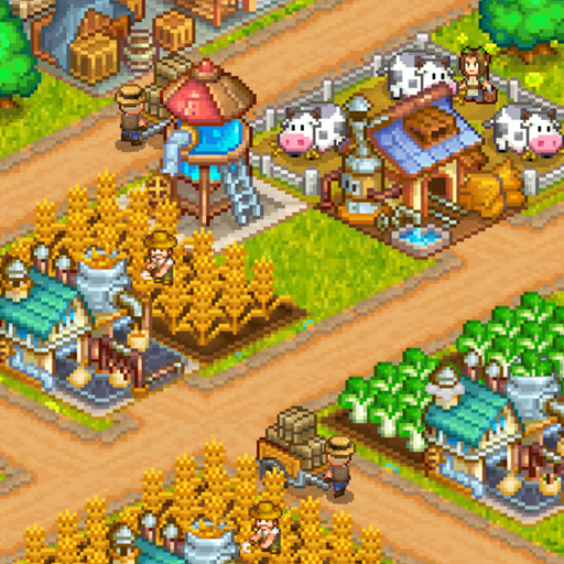 Steam Town: Farm & Battle, addictive RPG game Mod apk download – Mod Apk 1.4.1 [Unlimited money] free for Android.