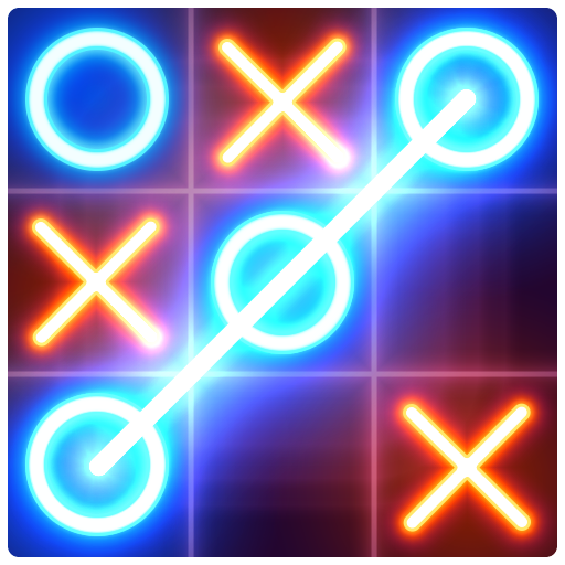 Tic Tac Toe glow – Free Puzzle Game Pro apk download – Premium app free for Android