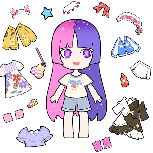 Mod apk download – Mod Apk Vlinder Gacha:Stylish Dressup Games  1.7.6 [Unlimited money] free for Android